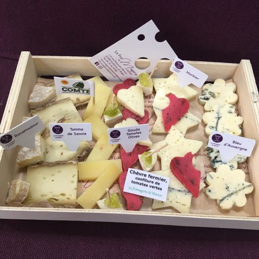duo plateau fromage aperitif fromagerie marion livraison