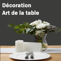 magasin decoration intérieur art de la table fleurs décoration art table