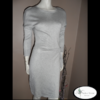 robe pull grise morgan Mmazelleeloise mode occasion ain