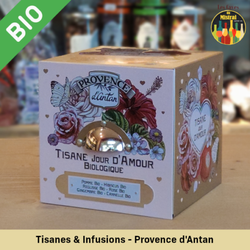 tisane infusion thé provence antan Caves Mistral amberieu bugey ain livraison jeannette