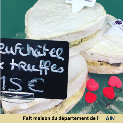 fromage neuchatel truffe coeur fromagerie marion amberieu ain france jeannette livraison
