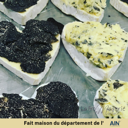 fromage neuchatel truffe valentin fromagerie marion amberieu ain france jeannette livraison